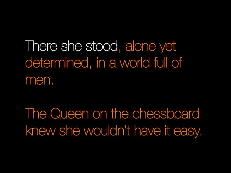 Who needs a king? Watch as the QUEEN conquer.