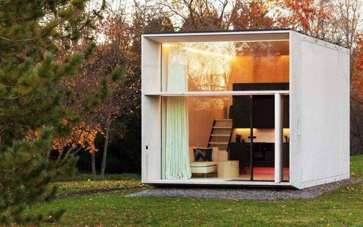 Simple, efficace et écologique. Cette petite maison se construit en sept heures !