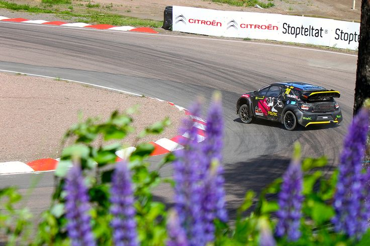 On track but still in the wilderness. Solberg in Finland. #RX // #RXUnleashed www.rallycrossrx.com