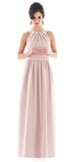 Alfred Sung D493 Pink Bridesmaid Dress