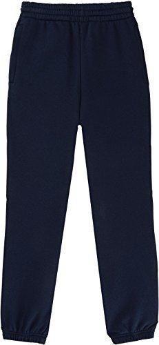 French Toast School Uniform Boys Fleece Sweat Pants Navy Large (10/12)