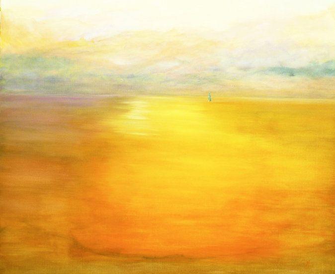 """Sunrise in the South West"" by artist Carol Hazel - Buy Western Australian Art Online from Out of the Box Biz"