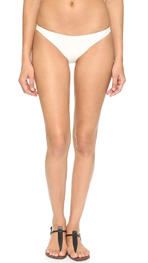 MIKOH Miyako Bikini Bottoms | MIKOH bikini bottoms in a brazilian cut. Double-layered. 80% nylon/20% spandex. Hand wash. Imported, Indonesia.