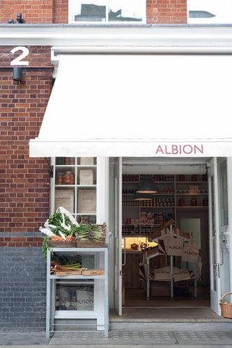 The BEST Places To Have Brunch In London  Albion Albion prides itself on selling products sourced directly from within the U.K. And, this is apparent on its breakfast menu of traditional dishes, such as scrambled eggs on toast, kidneys on toast, and porridge with prunes. Try to grab a table outside, where you can watch the hustle and bustle of people on their way to Brick Lane.Albion, 2-4 Boundary Street, Shoreditch, London, E2 ...