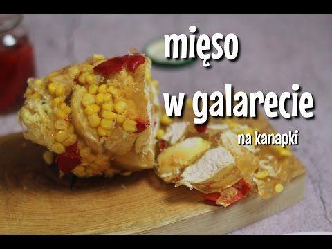 Mięso w galarecie wędlina na kanapki jak zrobić - YouTube