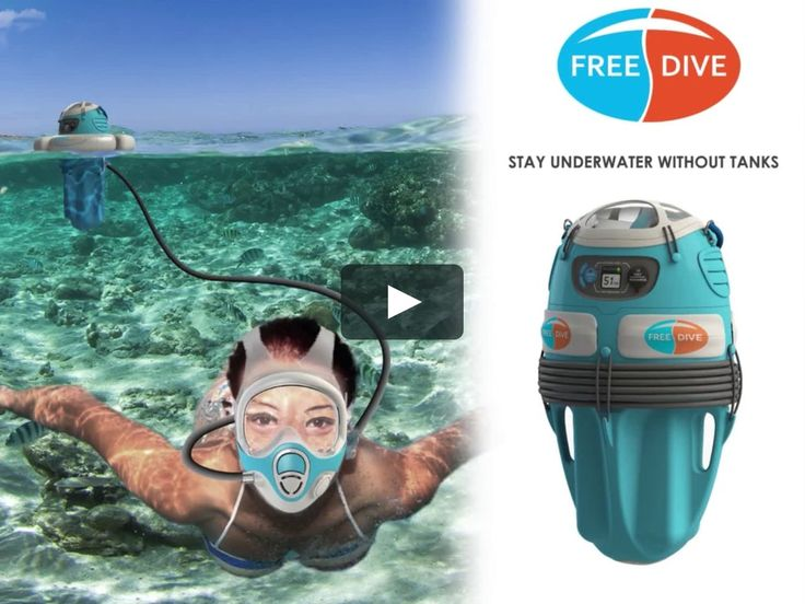 There's a gap in equipment between SCUBA diving and snorkelling. Freedive bridges that gap. With Freedive people can dive to six meters and stay there for…
