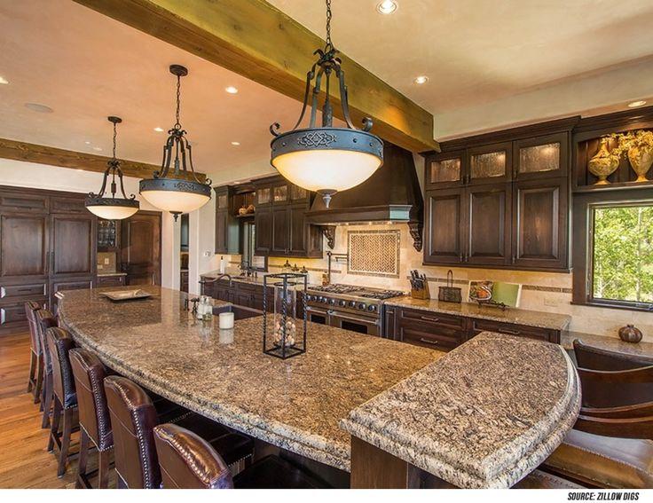 Dark Wood Kitchen 1693 best luxury kitchens images on pinterest | luxury kitchens