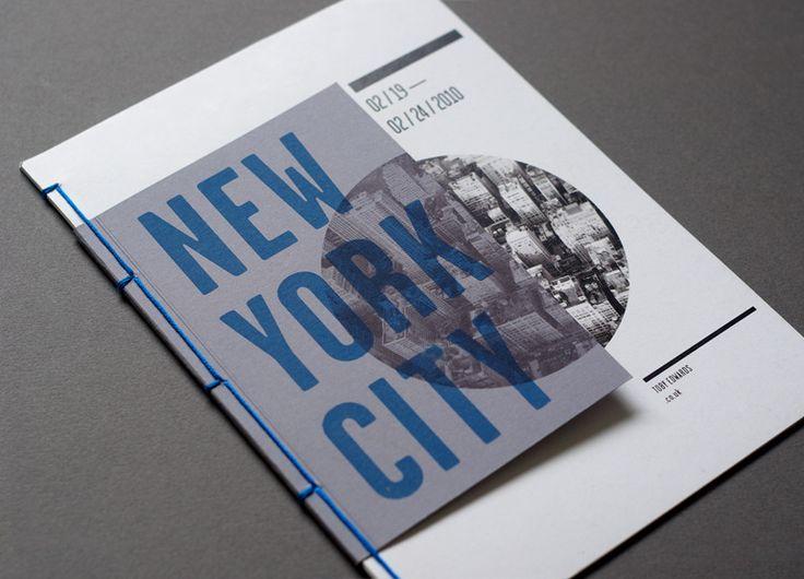 :: 20 livrets sur la ville de New-York réalisée par Toby Edwards ::