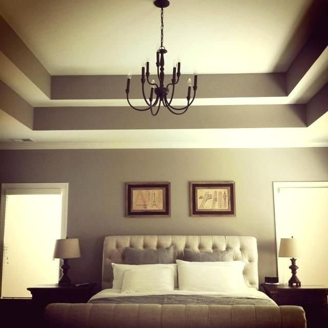 Cool Painted Ceilings How To Paint A Tray Ceiling Painting Ceiling