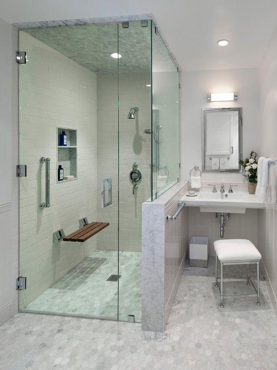 Handicap Zugänglich Bad Design Ideen #Badezimmermöbel #dekoideen #möbelideen