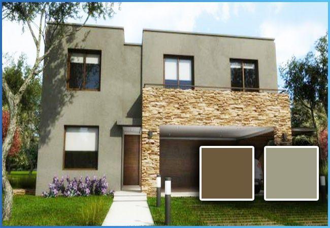 Colores para casas exteriores 2016 ideas para el hogar home decor home y house - Pintar exterior casa ...