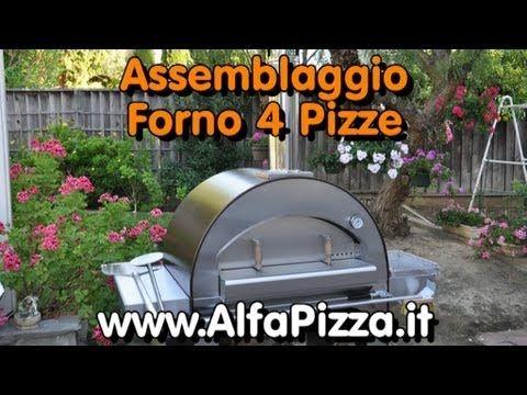 Il Montaggio del forno 4 Pizze della AlfaPizza