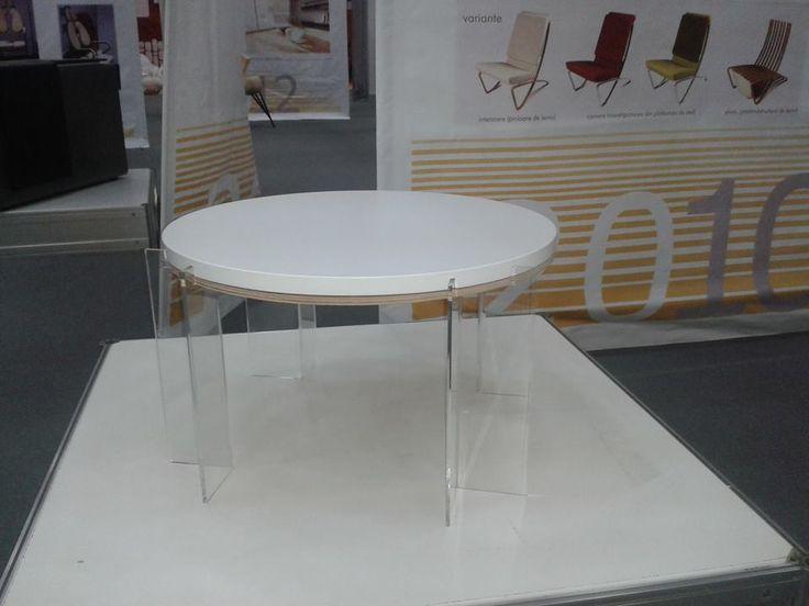 "Made by  A I T O, Bucharest - Romania Coffe Table ""Point"" Designer: Alexandra Morosanu https://www.facebook.com/ladesignarie?fref=ts"
