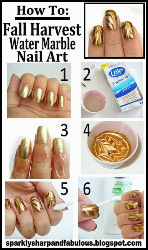 182 best Water marble nails images on Pinterest | Water marble nails ...