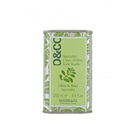 Olive Oil specialty with Basil Oliviers & Co
