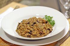 Risoto de Funghi ~ PANELATERAPIA - Blog de Culinária, Gastronomia e Receitas