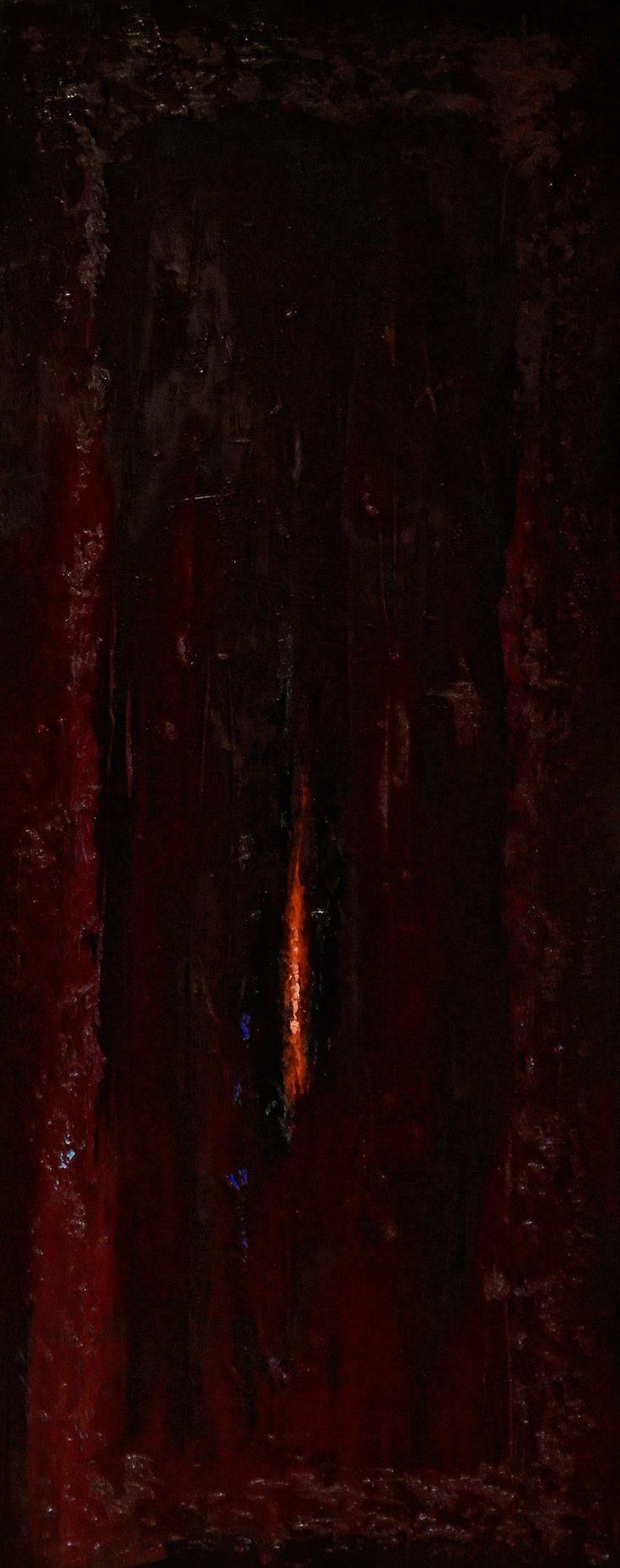 Femininity - abstract nude art by minimal painter Jacek Sikora
