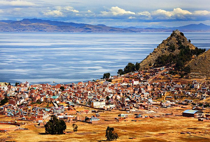 Lake Titicaca Copacabana, Bolivia This world is really awesome. The woman who make our chocolate think you're awesome, too. Please consider ordering some Peruvian Chocolate today! Fast shipping! http://www.amazon.com/gp/product/B00725K254