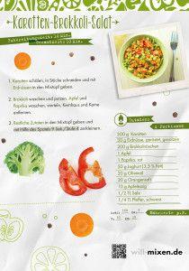 Karotten-Brokkoli-Salat