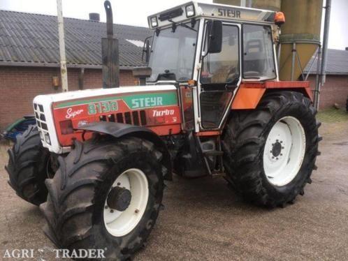Nette steyr tractor 4 wd goed op de banden 9200 draaiuren € 10.000 Excl. Btw inruil landbouwmachines mogelijk 0640587304 deze advertentie is afkomstig van agri trader .nl