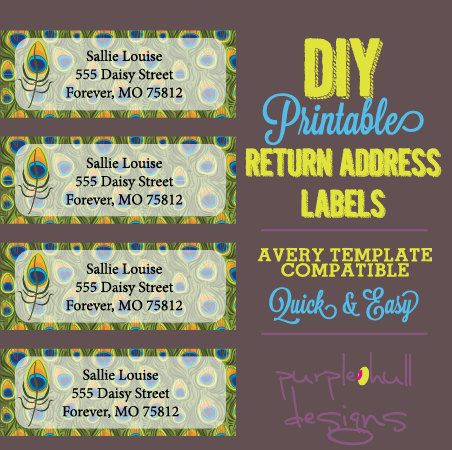 30 labels template
