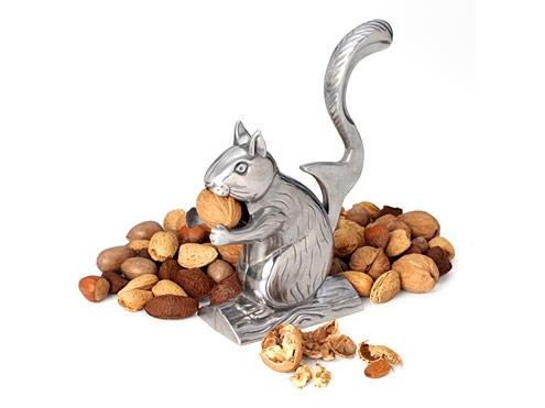 This might need to be the next addition to our kitchenware | Nutty Squirrel Nut Cracker: Nut Crackers, Pob Wits, Rollers Coasters, Pecans Pies, Walnut Recipes, Squirrels Nutcrackers, International Nutti, Autumn Desserts, Rsvp International