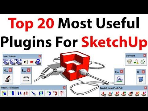 Top 20 Most Useful Plugins For SketchUp - YouTube