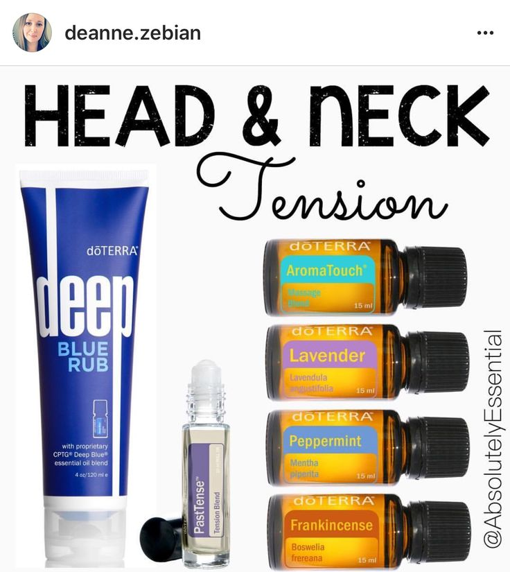 """CI tend to carry all my stress and tension in my neck and shoulders, which usually leads to a headache. These are what I ALWAYS reach for to support those areas. I apply the Deep Blue rub across my shoulders and up my neck. Then I layer on my headache rollerball that has Past Tense, AromaTouch, Lavender, Peppermint and Frankincense, topped with FCO! I love to use these natural options instead of constantly popping Advil and Tylenol....like I used to ♀️"""""""