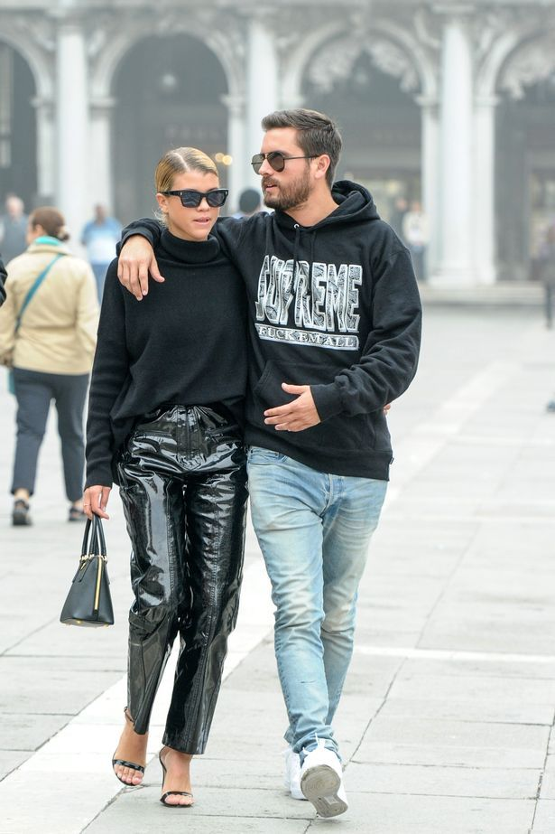 7cc0fbfa Scott Disick takes his new love Sofia Richie to Venice after her father  Lionel admitted he was 'scared to death' of his daughter's boyfriend -  Mirror Online
