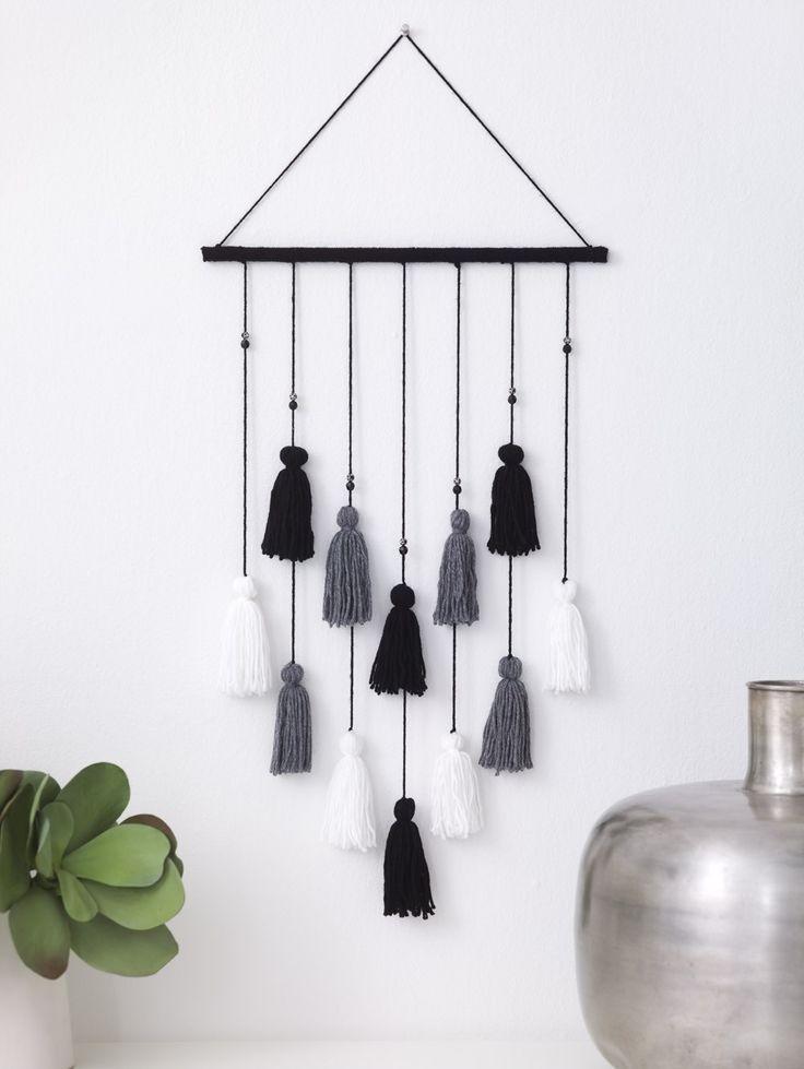 Tassel Wall Hanging (Loom/Weave) – #Hanging #LoomWeave #Tassel #Wall