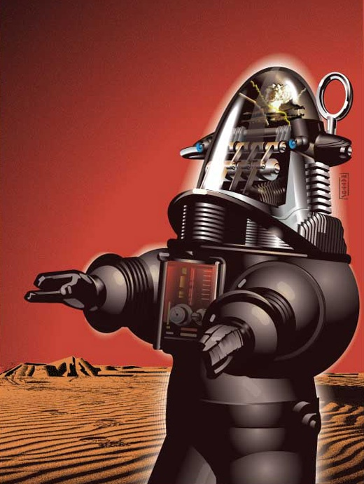 Robby the Robot, Actor: Forbidden Planet. Robby was the brainchild of, and designed by Robert Kinoshita, and built in mid-1955 by the MGM