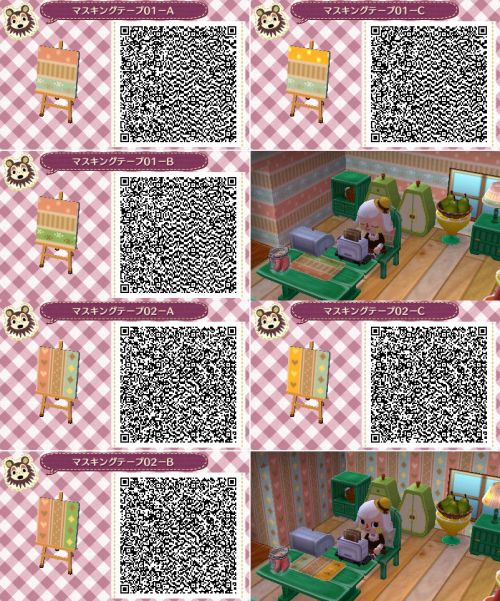 584 best images about acnl path codes on pinterest for Sideboard qr