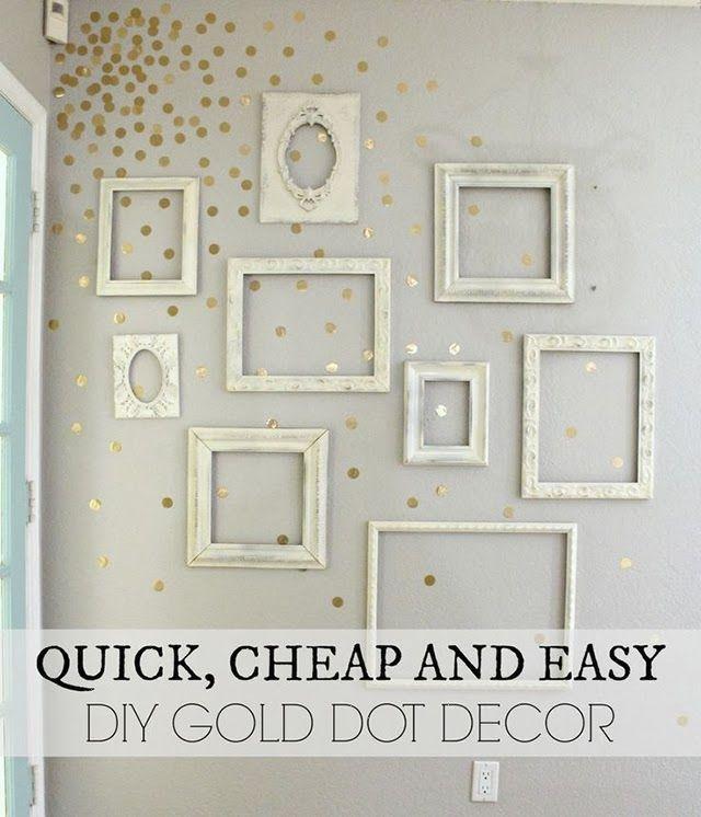 Tips LOW COST: Decora una pared vacía con