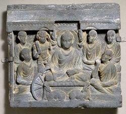 Буддийский барельеф Гандхара