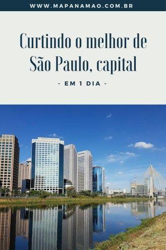 Estás passando corrido por São Paulo e queres aproveitar o melhor da capital paulista em 1 dia? Então não perca este post de o que fazer em São Paulo em 1 dia.