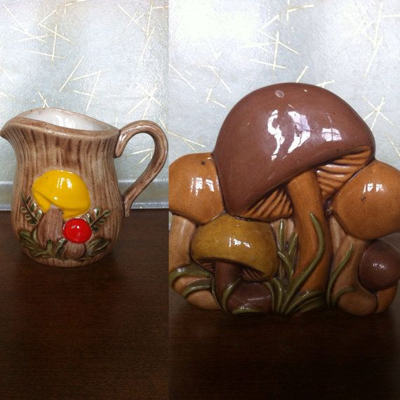 Vintage Mushroom Kitchen Decor: 233 Best Images About That 70's Style On Pinterest