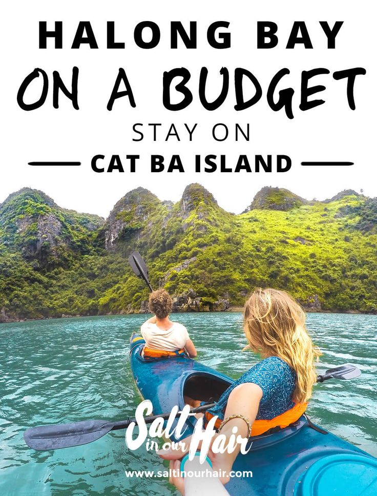 Halong Bay on a budget? Stay on Cat Ba Island  #vietnam #cat #ba #catba #island #halong #bay #halongbay #budget #cheap #backpack #backpacking #as #a #couple #kayak #asia #best #blog