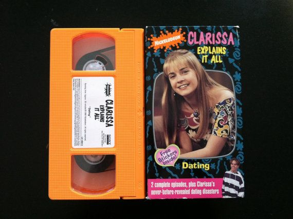 Clarissa Explains It All Dating Vhs