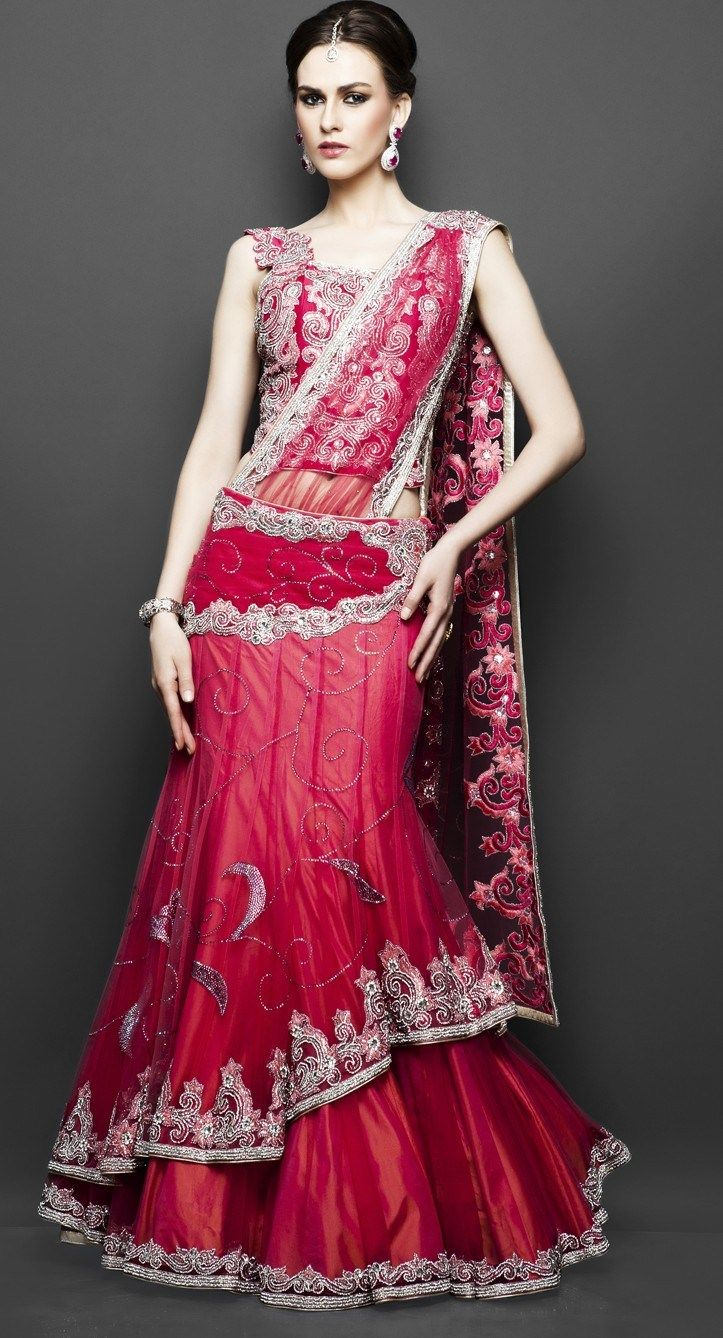 trends of indian bridal dresses
