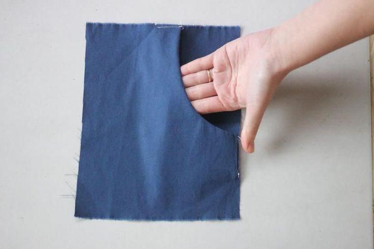 Aprenda hoje mesmo a pregar um bolso de forma simples e descomplicada. Aprenda a costurar suas roupas sem sair de casa!