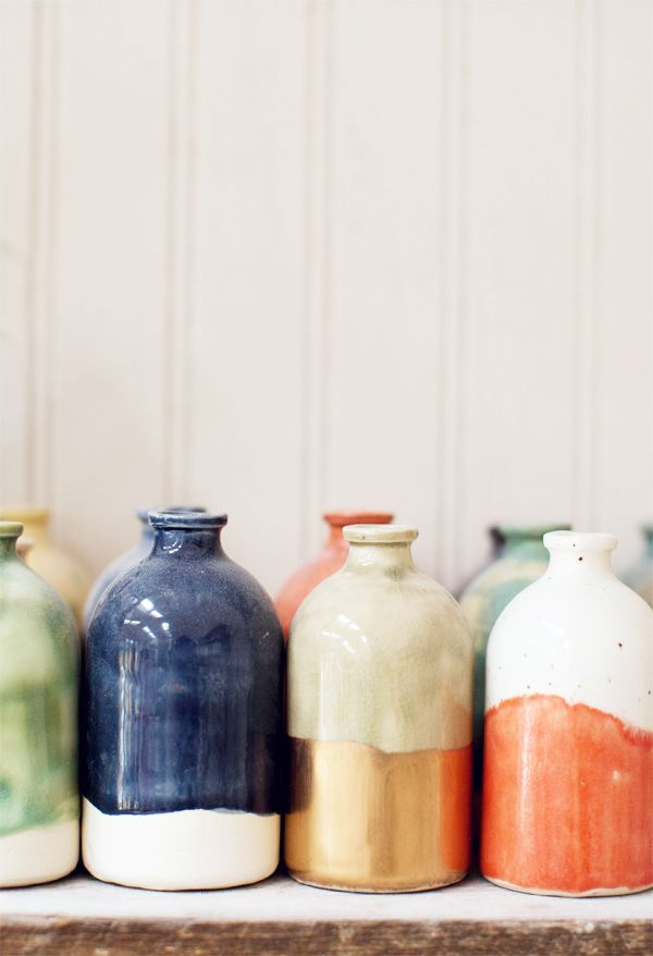 mini bud vases / Honeycomb Studio