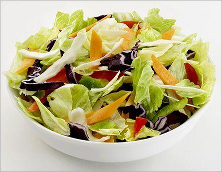 Вкусные салаты из овощей при правильном питании