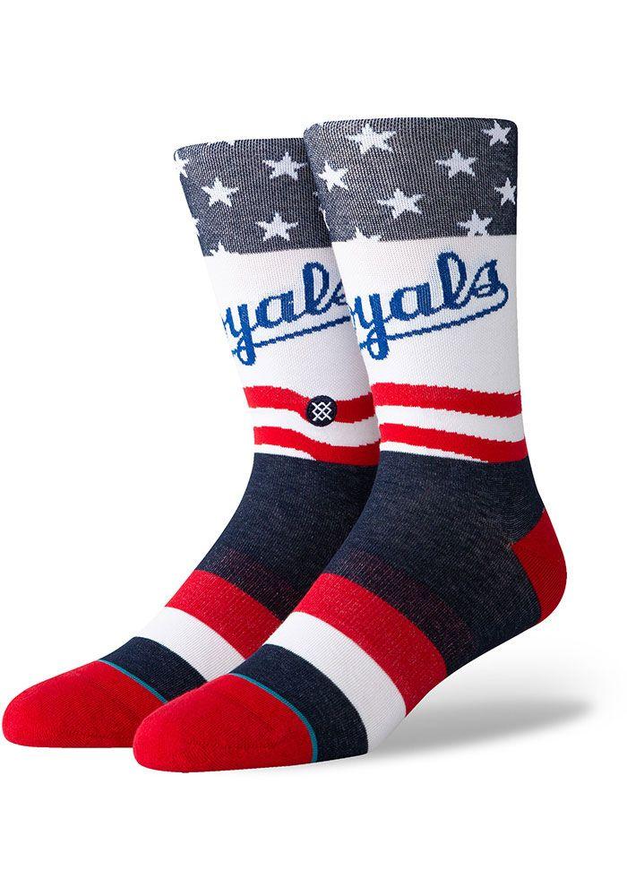 Kansas City Royals Stance Stars And Bars Mens Crew Socks 5740488 In 2020 Mens Crew Socks Crew Socks Kansas City Royals