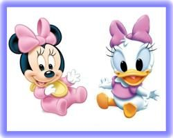 Minnie Mouse And Daisy Duck Baby Shower Duck Baby
