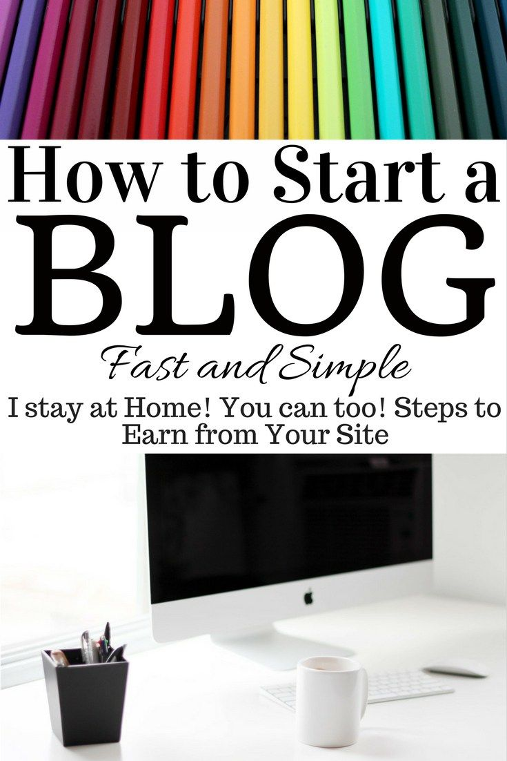 How to Start a Blog. Quick and Easy Blog Setup Guide. The Rising Damsel #blog #earn #wah #makemoney #bloggerlife