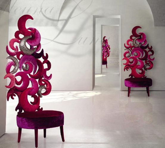 Sexy Glamour Seating Design By SICIS   Furniture Trends, Interior  Decorating Ideas, Home And · Funky ChairsModern ...