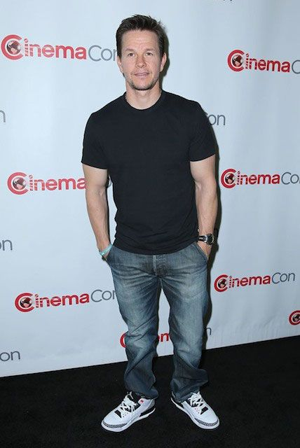American actor Mark Wahlberg at CinemaCon 2014 opening night...