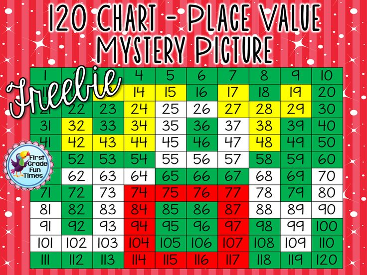 Christmas Freebie - Place Value Mystery Pictures