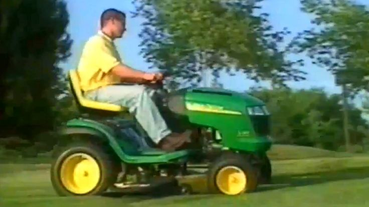 2002 - Instructional - John Deere Lawn Tractor Introductory Video - L-10...