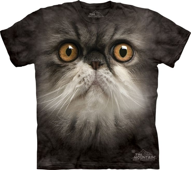 Animal Face Furry T-Shirt - Click image to see hundreds of different animal t-shirts #themountaintees